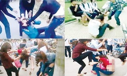Trẻ bị bạo hành, làm nhục trên mạng: Nhà trường, gia đình, xã hội ở đâu? - 1