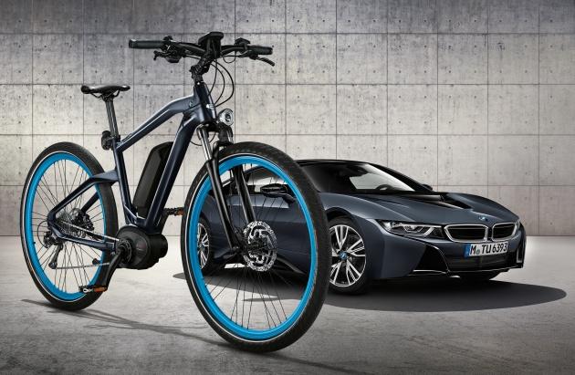 """Mẫu xe đạp Cruise e-Bike đặc biệt - """"song sinh"""" với BMW i8 2016 - 1"""