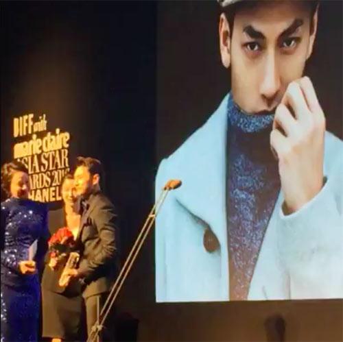 Isaac bất ngờ nhận được giải thưởng tại LHP Busan - 3