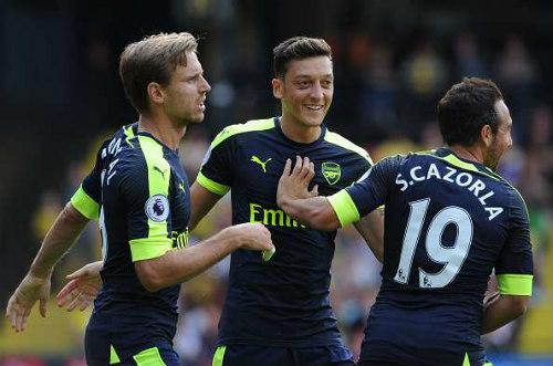 """Hiệu suất kiến tạo Ozil bằng 0: Arsenal đang """"đổi mới"""" - 2"""