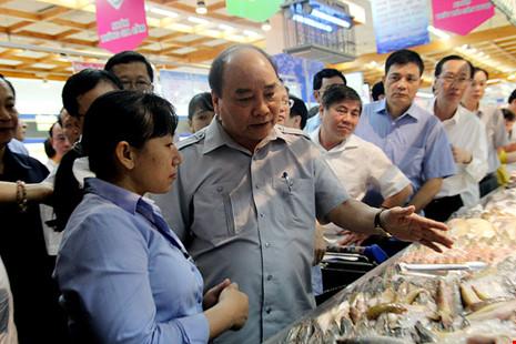 Thủ tướng bất ngờ vi hành ở TP.HCM - 7