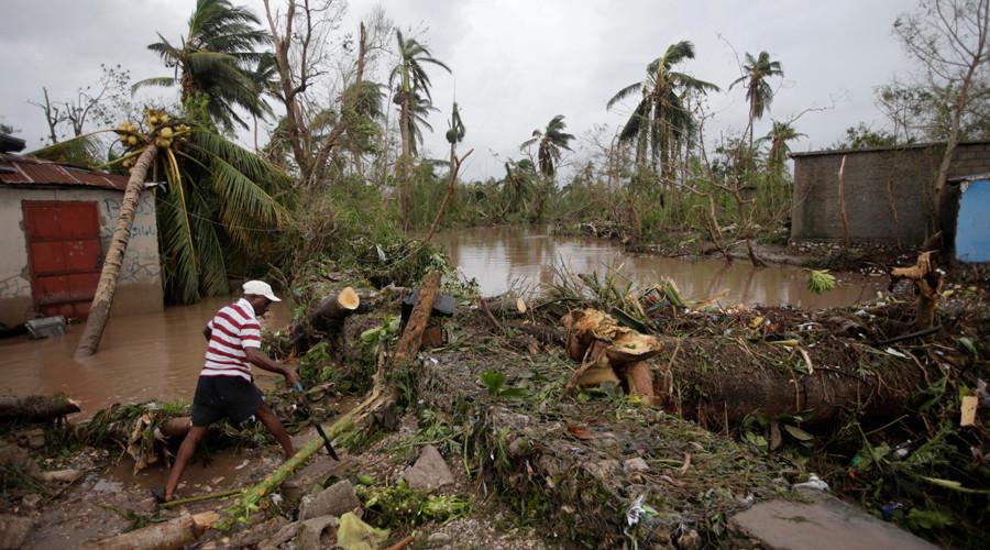 """Siêu bão """"Quái vật"""" khiến 870 người chết ở Haiti - 1"""
