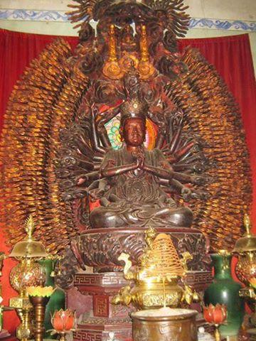 Tìm thấy tượng Phật nghìn mắt nghìn tay bị mất trộm - 1