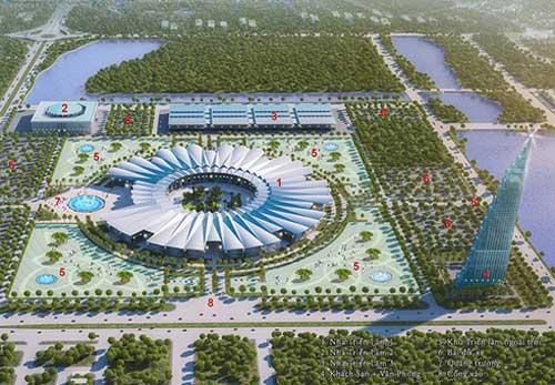 Hà Nội xây trung tâm triển lãm lớn nhất châu Á - 1