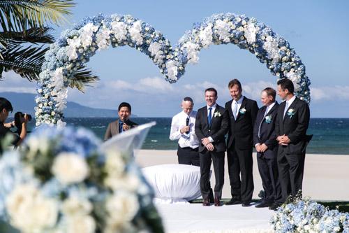 Choáng ngợp lễ cưới xa hoa chi phí 2 tỷ của cô gái Ninh Bình
