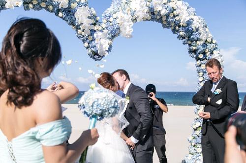 Choáng ngợp lễ cưới xa hoa của cô gái Ninh Bình - 13