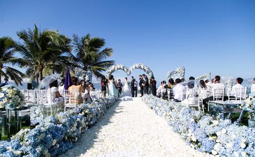 Choáng ngợp lễ cưới xa hoa của cô gái Ninh Bình - 10