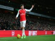 """Bóng đá - Hiệu suất kiến tạo Ozil bằng 0: Arsenal đang """"đổi mới"""""""