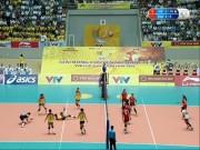 Thể thao - ĐT nữ Việt Nam - Giang Tô: Khai cuộc ấn tượng (Bóng chuyền VTV Cup)