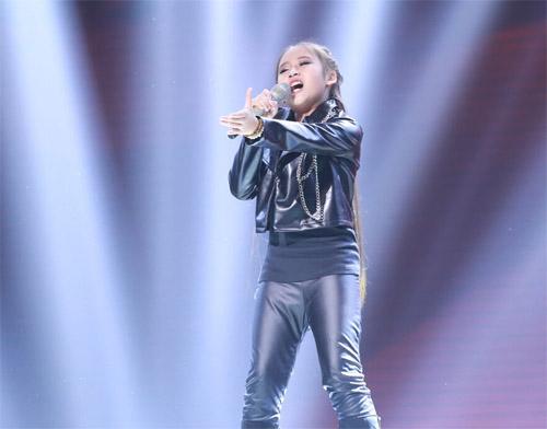 """Tiểu Thu Minh"" gây sốt The Voice Kids - 7"