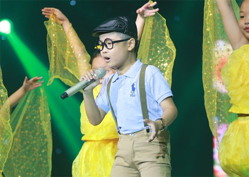 """Tiểu Thu Minh"" gây sốt The Voice Kids - 11"