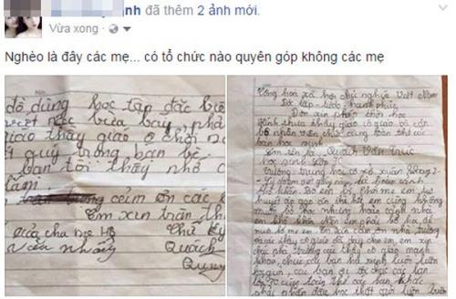 Xót xa học sinh lớp 7 xin nghỉ học vì nhà hết gạo - 1