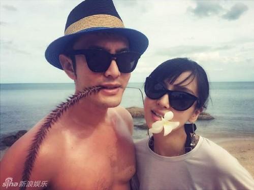 Huỳnh Hiểu Minh khoe ảnh kỷ niệm 1 năm ngày cưới - 3