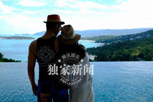 Huỳnh Hiểu Minh khoe ảnh kỷ niệm 1 năm ngày cưới - 4