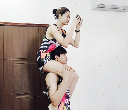 Khám phá chốn riêng tư của vợ chồng Trương Quỳnh Anh - 2