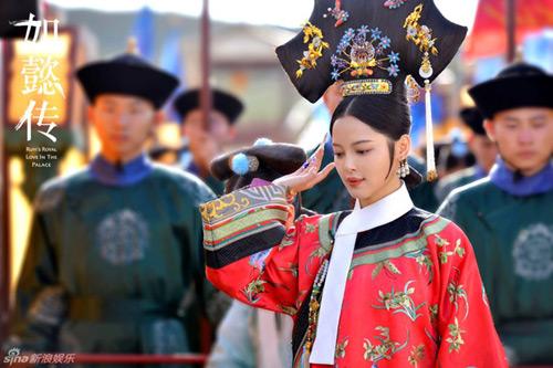 Lộ diện dàn phi tử xinh như tiên nữ trong phim vua Càn Long - 10
