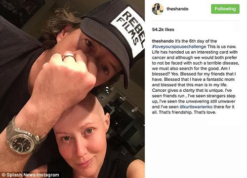 Fan xót xa sao nữ bị hủy hoại nhan sắc vì mắc ung thư - 2