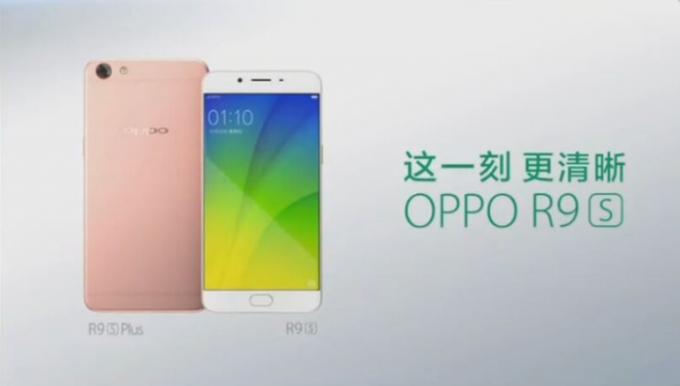 Lộ diện ngoại hình của Oppo R9S và R9S Plus - 1