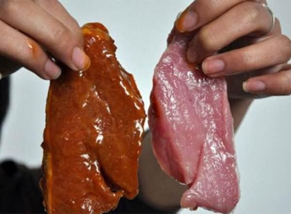 Công an điều tra vụ thịt bò giả làm từ thịt lợn ở Hà Nội - 1