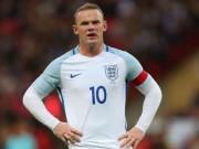 Bóng đá - ĐT Anh: Mờ nhạt, Rooney còn suýt đạp gãy chân đối thủ