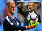 """Bóng đá - Dự bị Man City, số 1 ĐT Anh: Joe Hart """"đá xoáy"""" Pep"""