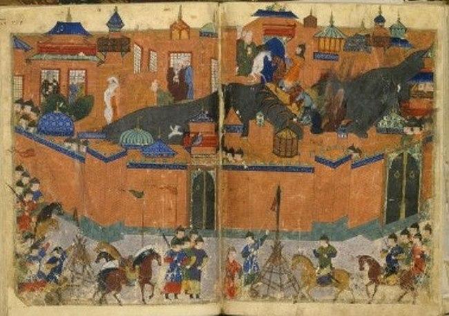 """Đế chế vĩ đại xây trên """"núi xác"""" của Thành Cát Tư Hãn - 6"""
