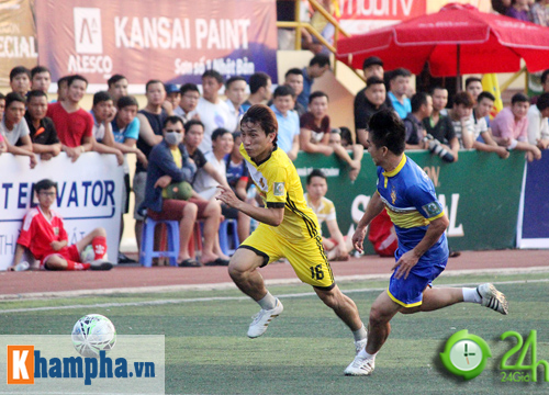"""Giải """"phủi"""" cạnh tranh sức nóng với đội tuyển Việt Nam - 2"""