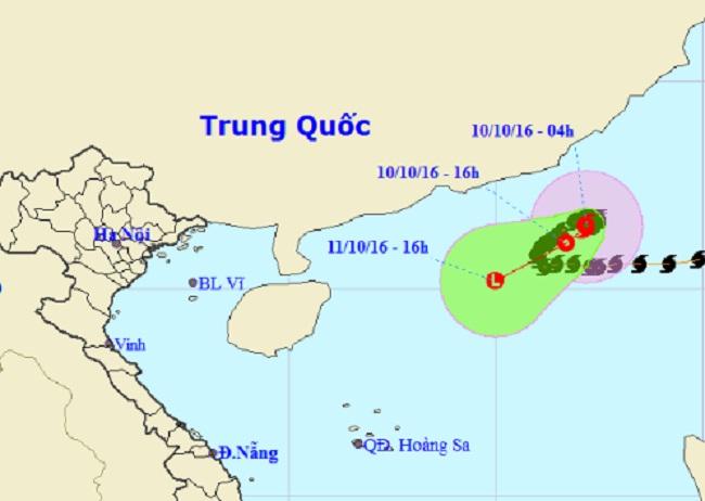Bão số 6 suy yếu thành áp thấp nhiệt đới - 1