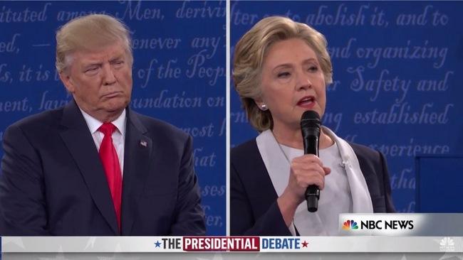 Tranh luận lần 2:Trump lấy công làm thủ sau video nói tục - 5