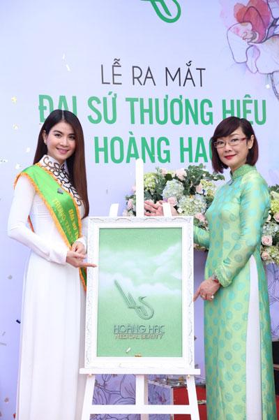 Lại Kha Ly chính thức là đại sứ thương hiệu TTTM Hoàng Hạc - 1