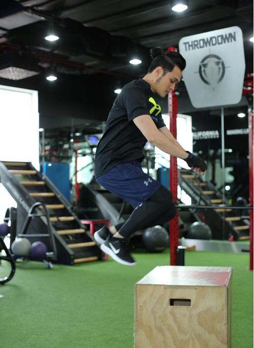 """Quang Vinh quyết lấy lại vóc dáng chuẩn """"soái ca"""" - 3"""