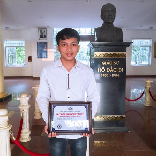 Đại học Y Hà Nội: Chân dung thủ khoa nhận Học Bổng Nhất Nhất - 1