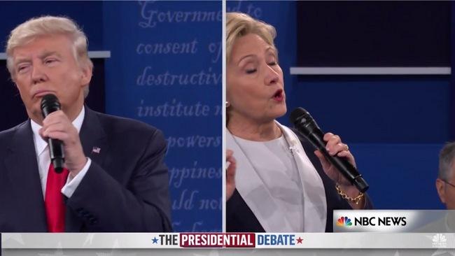 Tranh luận lần 2:Trump lấy công làm thủ sau video nói tục - 2