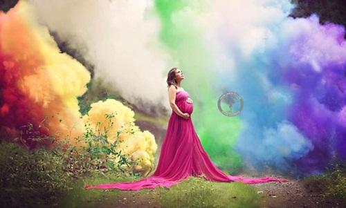 Rơi nước mắt với bức ảnh của mẹ trẻ từng 6 lần sảy thai - 1