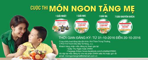 Cơ hội trổ tài nấu ăn nhân ngày phụ nữ Việt Nam 20/10 - 1