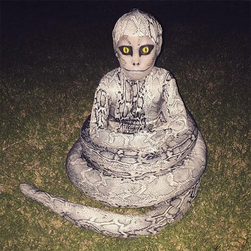 """""""Đau ruột"""" xem các bé hóa trang đón Halloween - 4"""