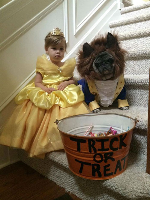 """""""Đau ruột"""" xem các bé hóa trang đón Halloween - 5"""