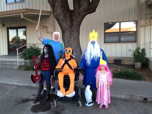 """""""Đau ruột"""" xem các bé hóa trang đón Halloween - 10"""