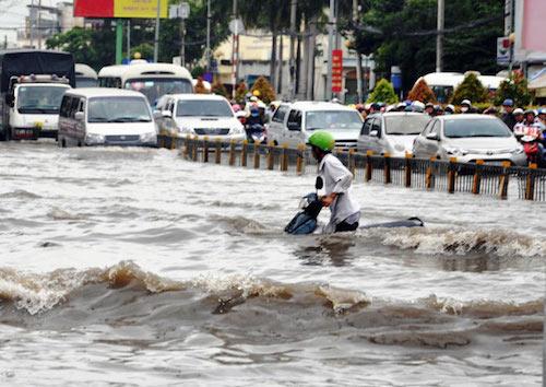 TP.HCM: Phân công lãnh đạo chống ngập, kẹt xe - 2