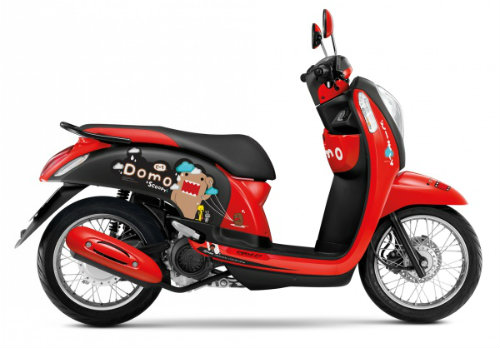 Honda Scoopy i Domo-kun giá 30,8 triệu đồng cho nữ sinh - 2