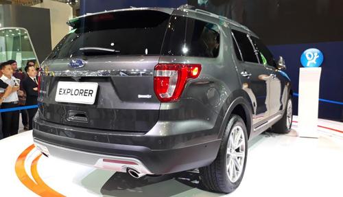 SUV hạng sang Ford Explorer có giá 2,18 tỷ đồng tại Việt Nam - 2