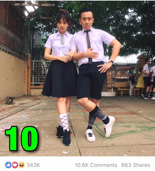 """7 hình ảnh Trấn Thành tình tứ với bạn gái nhiều """"like"""" nhất - 8"""