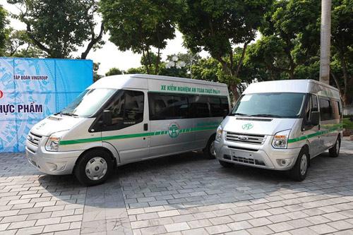 Vingroup trao tặng Thành phố Hà Nội 3 xe kiểm nghiệm thực phẩm - 3