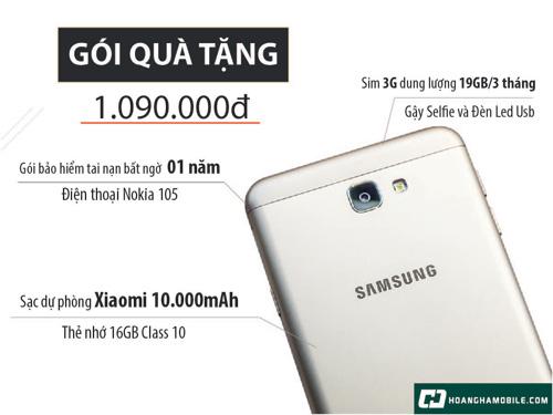 Chỉ 1.8 triệu, sở hữu siêu phẩm Galaxy J7 Prime - 7