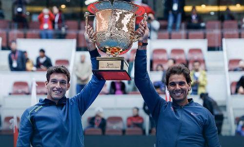 """Tennis 24/7: """"Kỷ lục"""" đánh đôi mới cho Nadal - 1"""