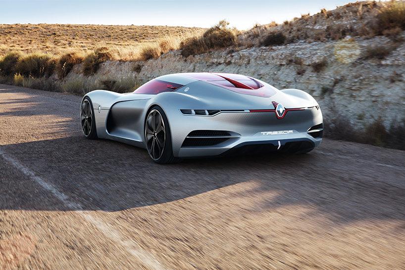 Ngắm thiết kế độc và lạ của xe ô tô thể thao điện Trezor concept - 2