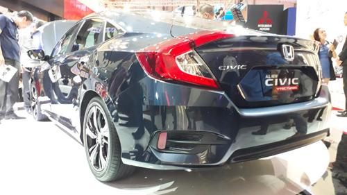 Honda Civic 2016 chính thức ra mắt tại Việt Nam - 3