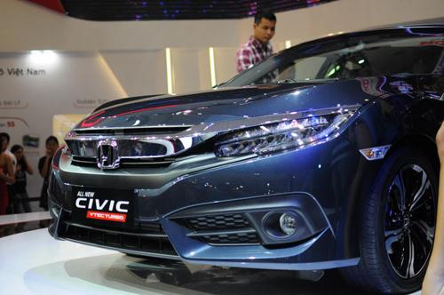 Honda Civic 2016 chính thức ra mắt tại Việt Nam - 1