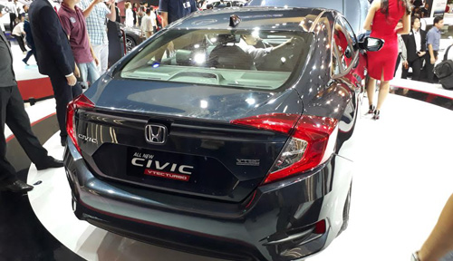 Honda Civic 2016 chính thức ra mắt tại Việt Nam - 8