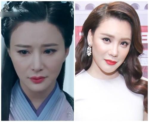 Bất ngờ với nữ diễn viên Trung Quốc giống hệt Hồ Quỳnh Hương - 1